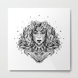 Wonder Warrior (Daily Sketch Series) Metal Print