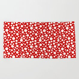 Dots Pattern Beach Towel