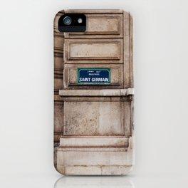 Saint Germain II iPhone Case