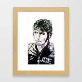 Joey Dunlop Framed Art Print