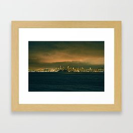 VIEW FROM FORT BAKER I Framed Art Print