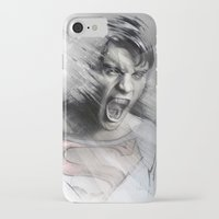 superheroes iPhone & iPod Cases featuring Superheroes SF by Alexis Marcou
