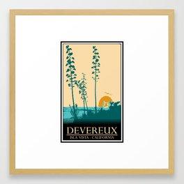 Devereux Framed Art Print