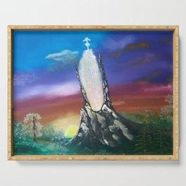 NeverEnding Story, Tower - FAN ART Serving Tray