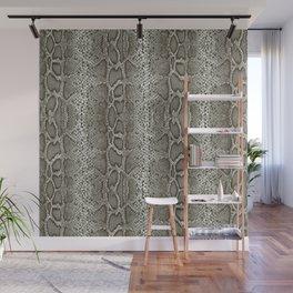 snake skin in monochrome hues Wall Mural