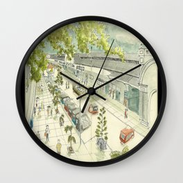 Sri Lanka Sketchbook - Colombo Wall Clock