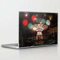 copenhagen Laptop & iPad Skins featuring Tivoli Gardens Copenhagen by Created by Eleni