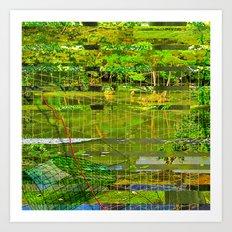 Landscape of My Heart (segment 3) Art Print