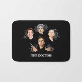 9th 10th 11th and 12th Doctor who iPhone 4 4s 5 5c 6 7, pillow case, mugs and tshirt Bath Mat
