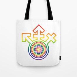 Universal Gay Pride LGBT Symbol Tote Bag