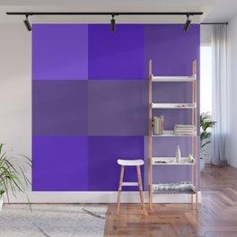 Purple fantasy grid Wall Mural
