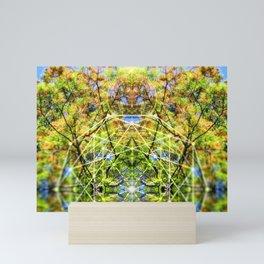 GeoBotanica V2 Mini Art Print