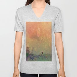 Rain in September Unisex V-Neck