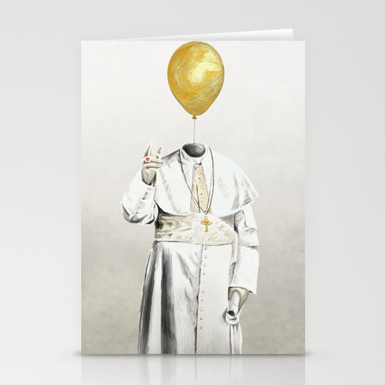The Pope - #4 Stationery Cards