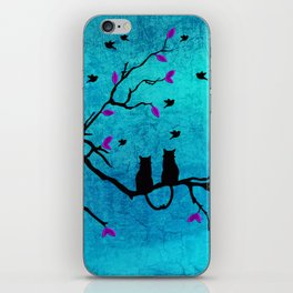 Lovecats - Together forever iPhone Skin