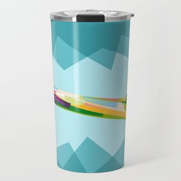 Colorful Jets Travel Mug