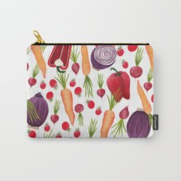Farmers Market Vegetables Carry-All Pouch