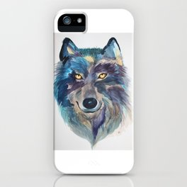 A she-wolf iPhone Case