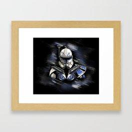 Captain REX Framed Art Print