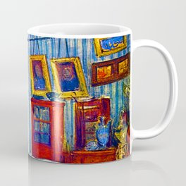 Eugene Delacroix Bedchamber of Count de Mornay Coffee Mug