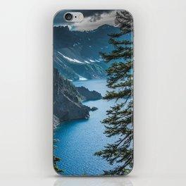 Blue Crater Lake Oregon in Summer iPhone Skin