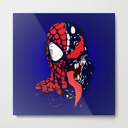 The Other Side Spider Man Metal Print