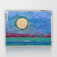Abstract Landscape IV (Colorized) Laptop & iPad Skin