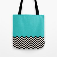 code Tote Bags featuring Follow the Sky by Bianca Green