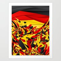 germany Art Prints featuring Germany by Danny Ivan