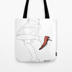 Red Shoe Tote Bag