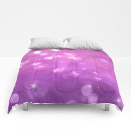 Purple-Pink Bubble Gum Candies Comforters