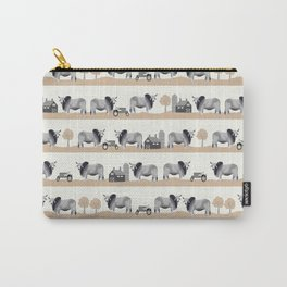 Brahman cattle breed farm gifts cow homestead animal sanctuary Carry-All Pouch
