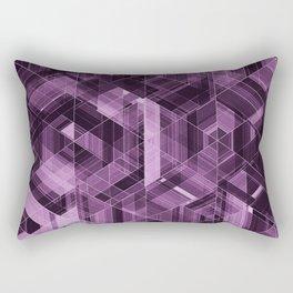Abstract violet pattern Rectangular Pillow