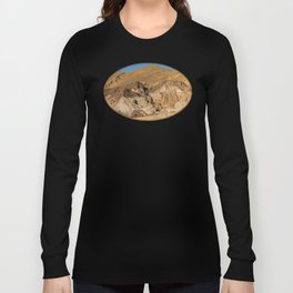 Artist's Palette Pano - Death Valley, California Long Sleeve T-shirt