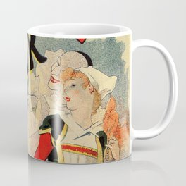 French belle epoque mime theatre advertising Coffee Mug