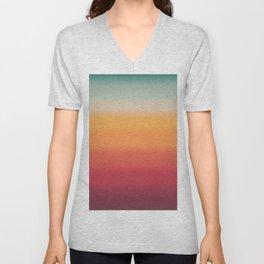 Sunset Shades Unisex V-Neck