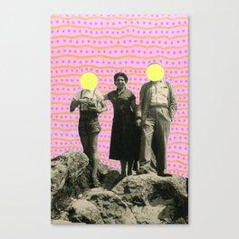 Lunar Rocks Canvas Print