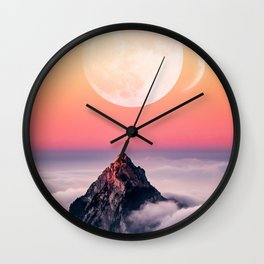 Lunar 4 Wall Clock