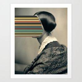Unidentified Woman / Hypercolours (2013) Art Print