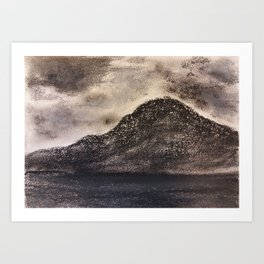 Norwegian Mountain by Gerlinde Art Print