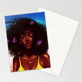Purple X Melanin Stationery Cards