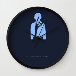 I'll Be Right Here -E.T. : The Extra-Terrestrial Wall Clock