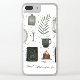 House of the Cunning Clear iPhone Case