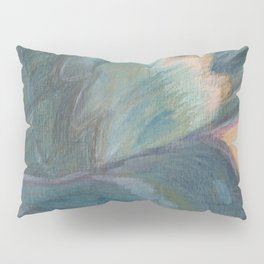 Butterfly Wing On Wood Pillow Sham
