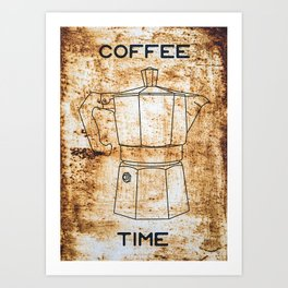 Its Coffee Time... Art Print