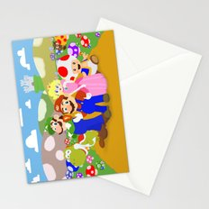Mario & friends Stationery Cards