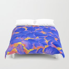 Supercontrast #painting #nature Duvet Cover