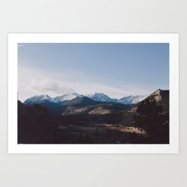 Rockies Art Print