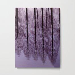 Water Trees - JUSTART © Metal Print