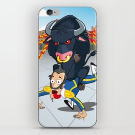 Bullfighter iPhone Skin